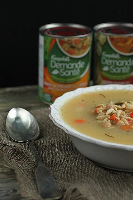 Banc d'essai : soupe Campbell's Demande Santé - Cinq Fourchettes
