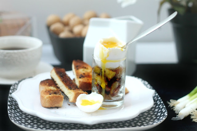 Verrines à déjeuner à l'italienne - Cinq Fourchettes