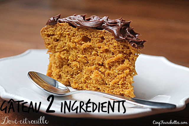 Gâtea 2 ingrédients