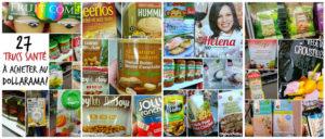 27 trucs santé à acheter au Dollarama (plutôt qu'à l'épicerie!) - Cinq Fourchettes