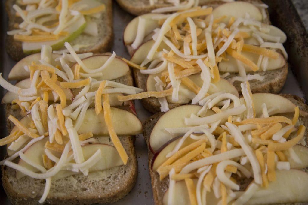 Repas économique et rapide : Croque-Monsieur aux pommes cheddar / Cinq Fourchettes