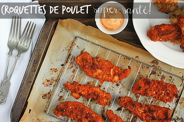 Croquettes de poulet santé - Cinq Fourchettes