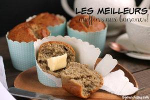 L'ingrédient magique pour faire les meilleurs muffins aux bananes! - Cinq Fourchettes