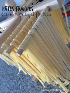 Comment faire des pâtes fraîches maison : facile et économique! - Cinq Fourchettes