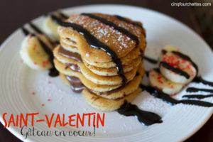 Saint-Valentin : un gâteau en coeur pour vos petits coeurs! Cinq Fourchettes