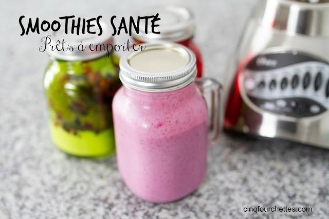 Comment préparer des smoothies pour la semaine! - Cinq Fourchettes