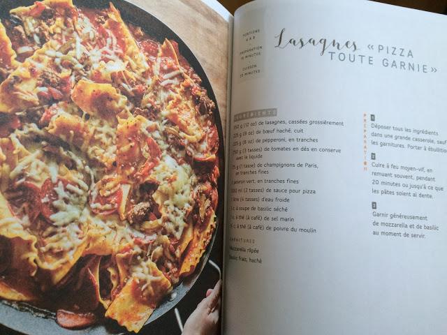 Recette de One pot pasta par Sonia Lizotte
