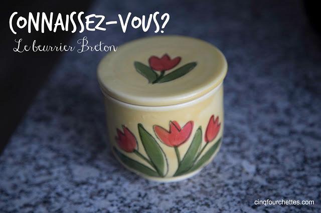 Connaissez-vous le beurrier breton Cinq Fourchettes