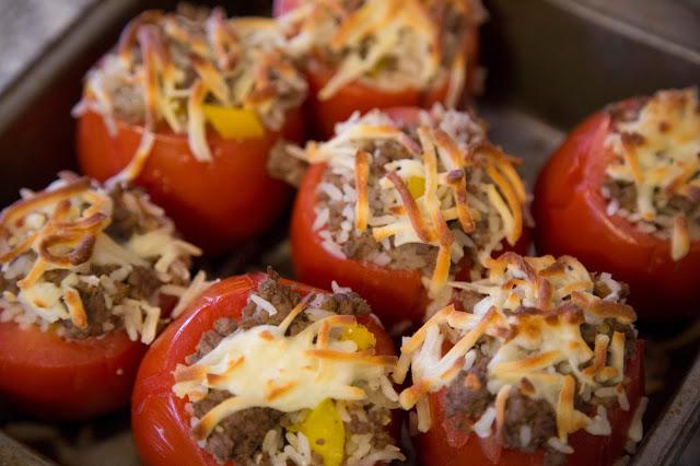 Tomates farcies à la mexicaine Cinq Fourchettes
