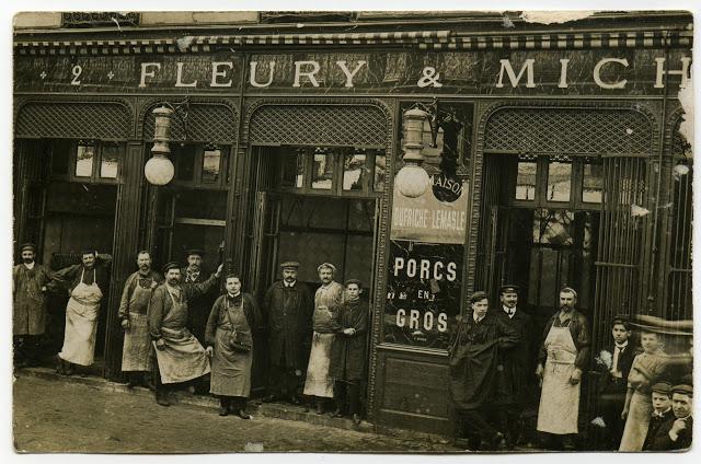 Photo historique Fleury Michon
