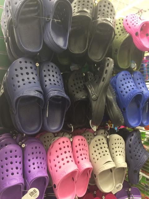 Crocs Dollorama