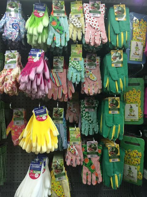 gants de jardinage Dollarama