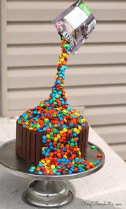 Gravity cake Cinq Fourchettes