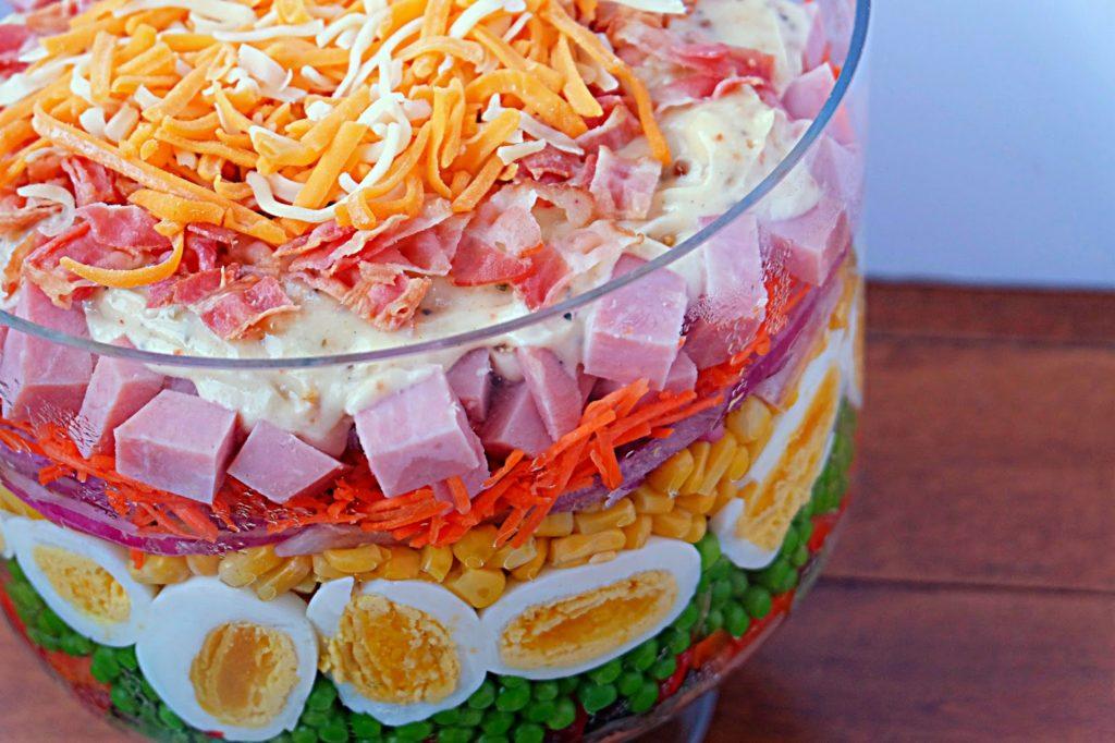 Salade étagée Cinq Fourchettes