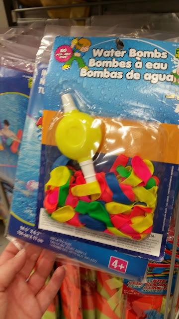 Ballounes d'eau à acheter au Dollarama