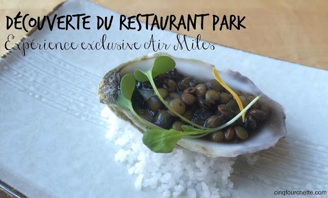 restaurant park air miles