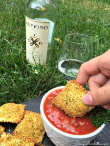 raviolis croustillants Cinq fourchettes