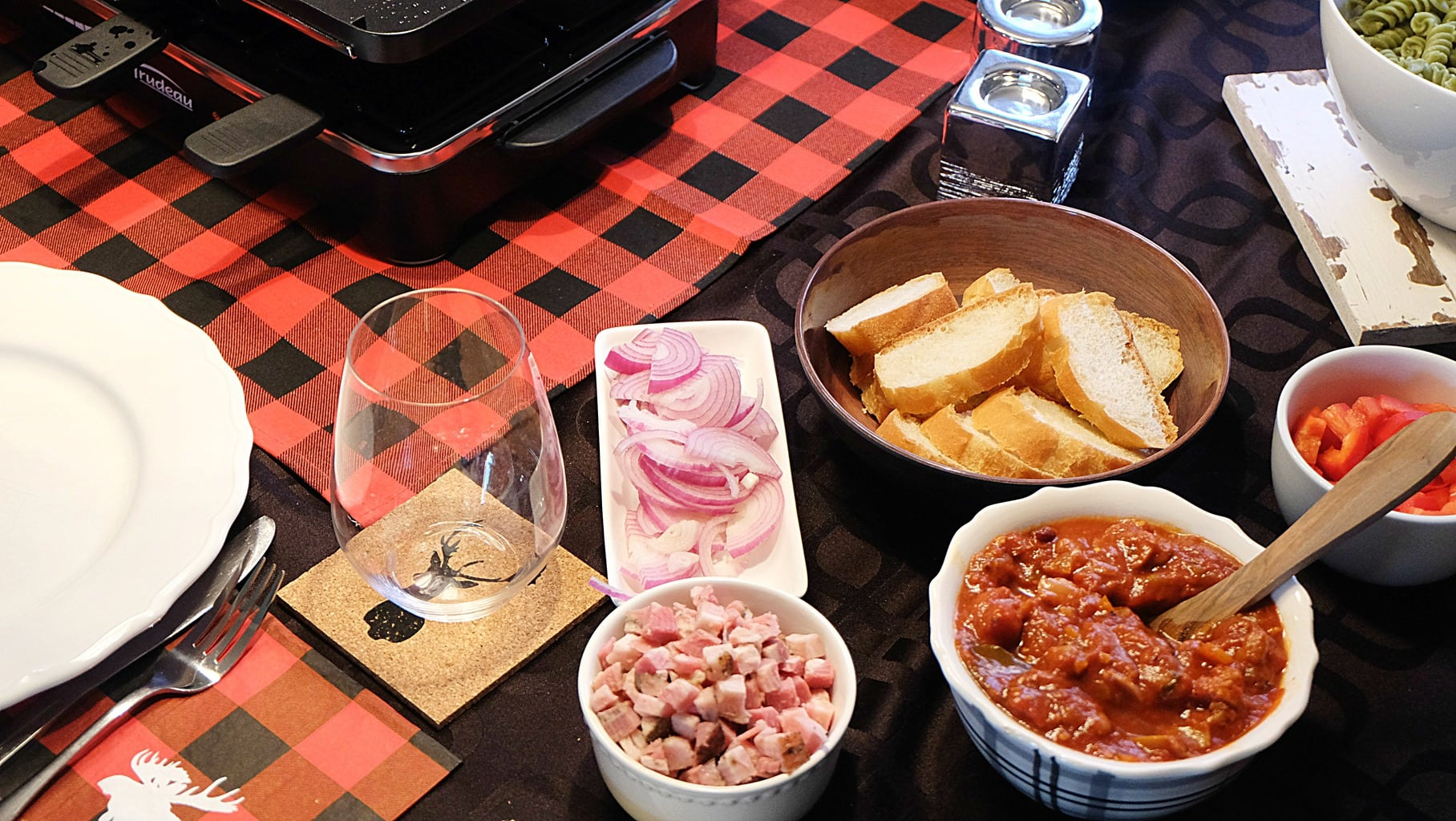 Raclette Et Pates Pour Un Repas Festif Facile Et Rapide Cinq