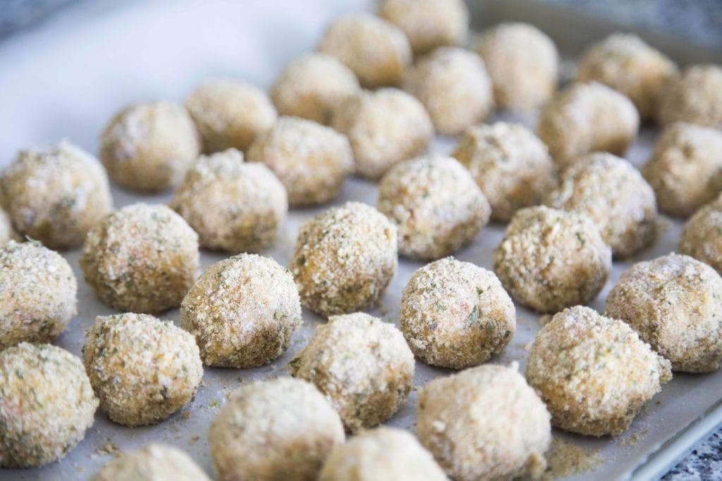 Arancinis, les meilleures bouchées pour un party #ÉclatezVousEnCuisinant / Cinq Fourchettes
