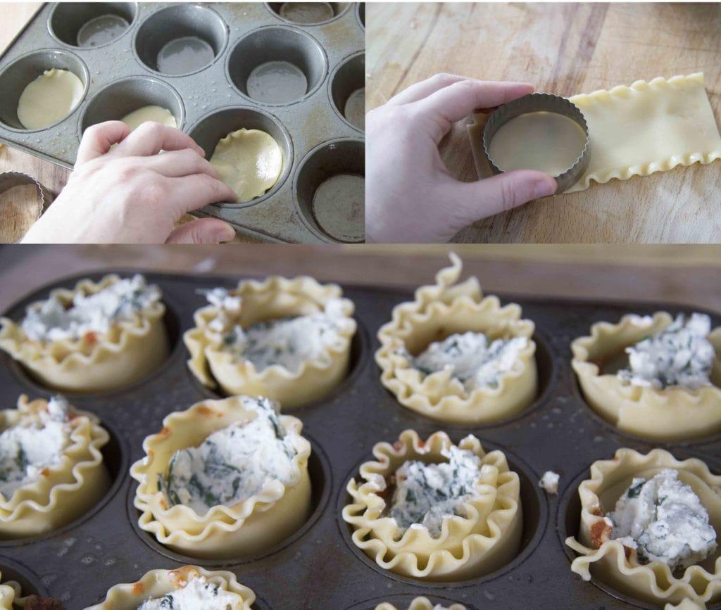 Lasagne muffin facile à faire / Cinq Fourchettes