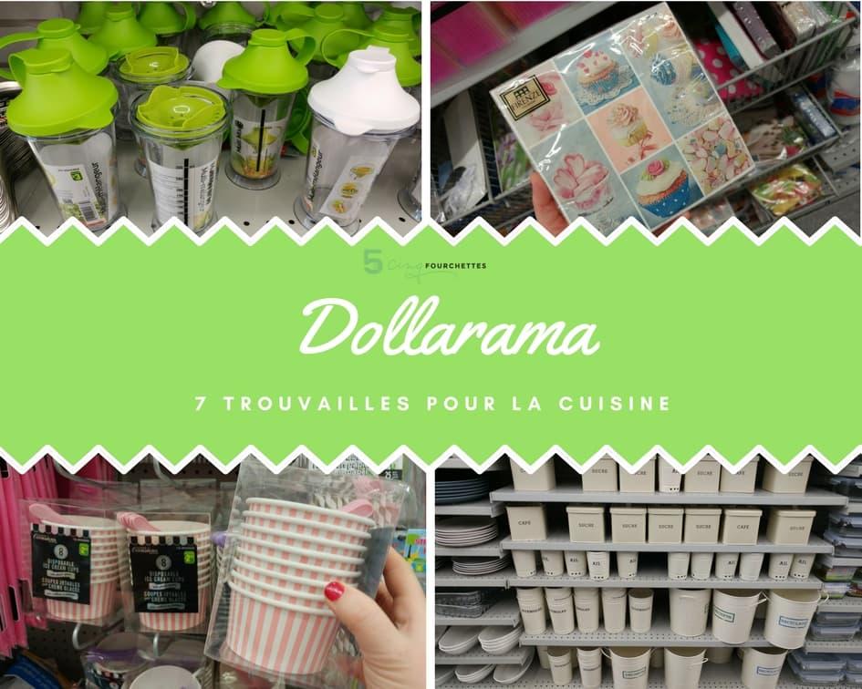 Dollarama 7 Trouvailles cool pour la cuisine / Cinq Fourchettes