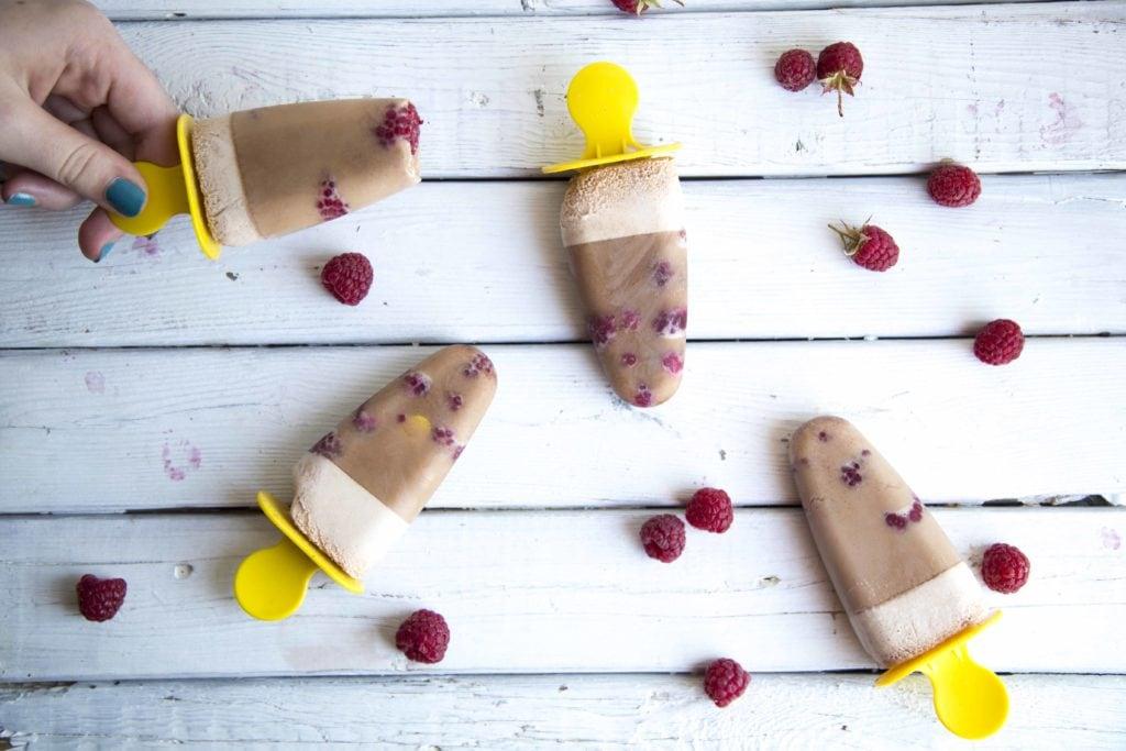 2 recettes de gâteries glacées chocolatées (SANS LACTOSE) / Cinq Fourchettes