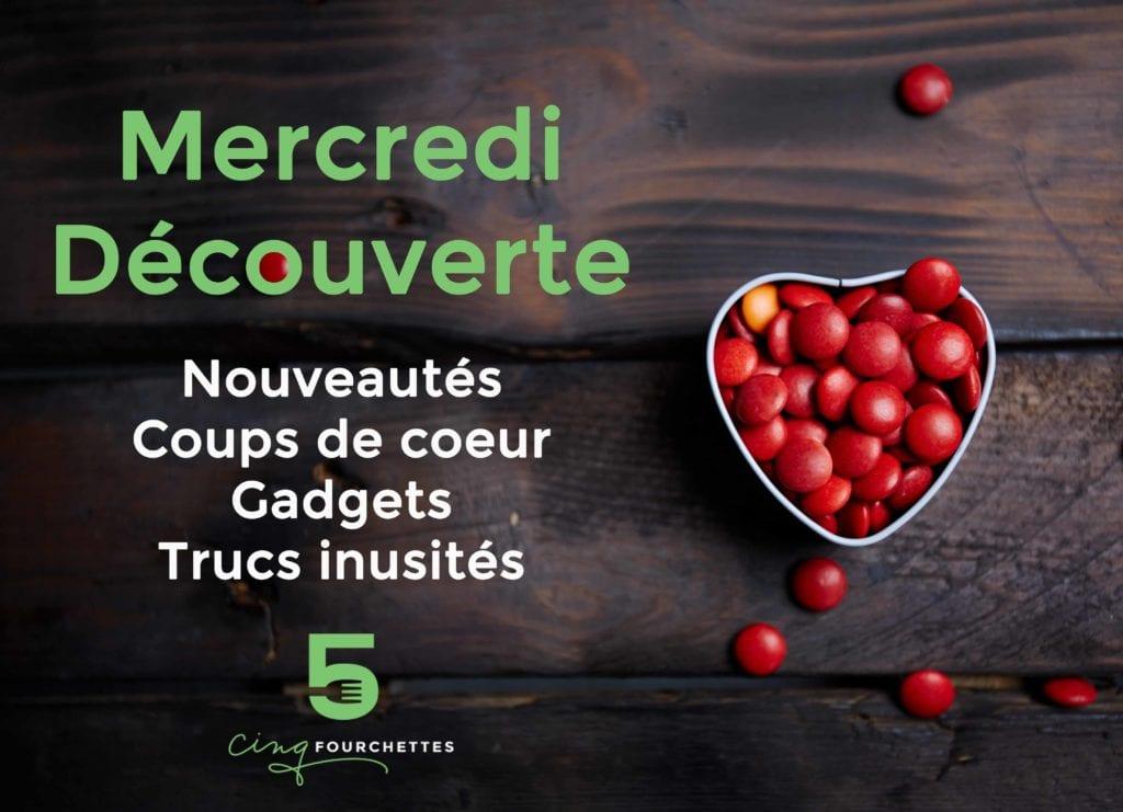 Mercredi découverte : Eau énergie, macarons aux bleuets, Famille Futée et Syrah ! / Cinq Fourchettes