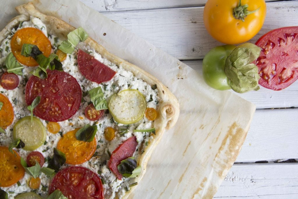 5 Ingrédients : Feuilleté aux tomates / Cinq Fourchettes
