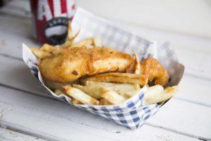 Fish'n chips à la Jérôme Ferrer / Cinq Fourchettes