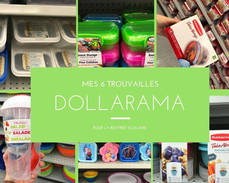 Mes 6 trouvailles du Dollarama pour la rentrée scolaire / Cinq Fourchettes