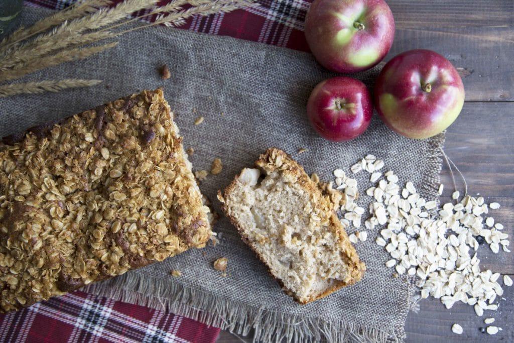 Dessert #WOW : le pain aux pommes / Cinq Fourchettes