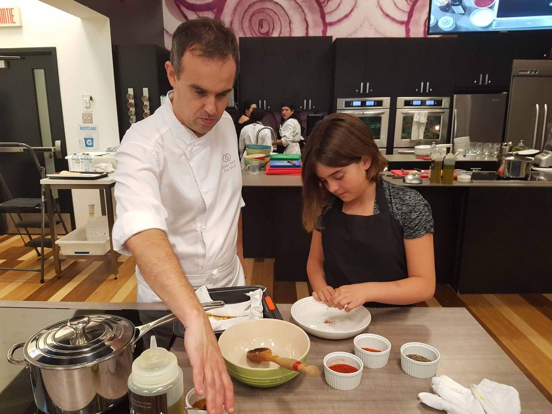 Ateliers de cuisine pour enfants avec un vrai CHEF / Cinq Fourchettes