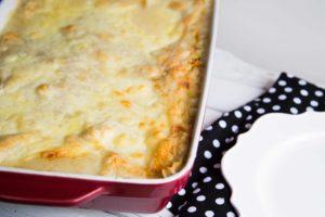 Lasagne au poulet et aux légumes / Cinq Fourchettes