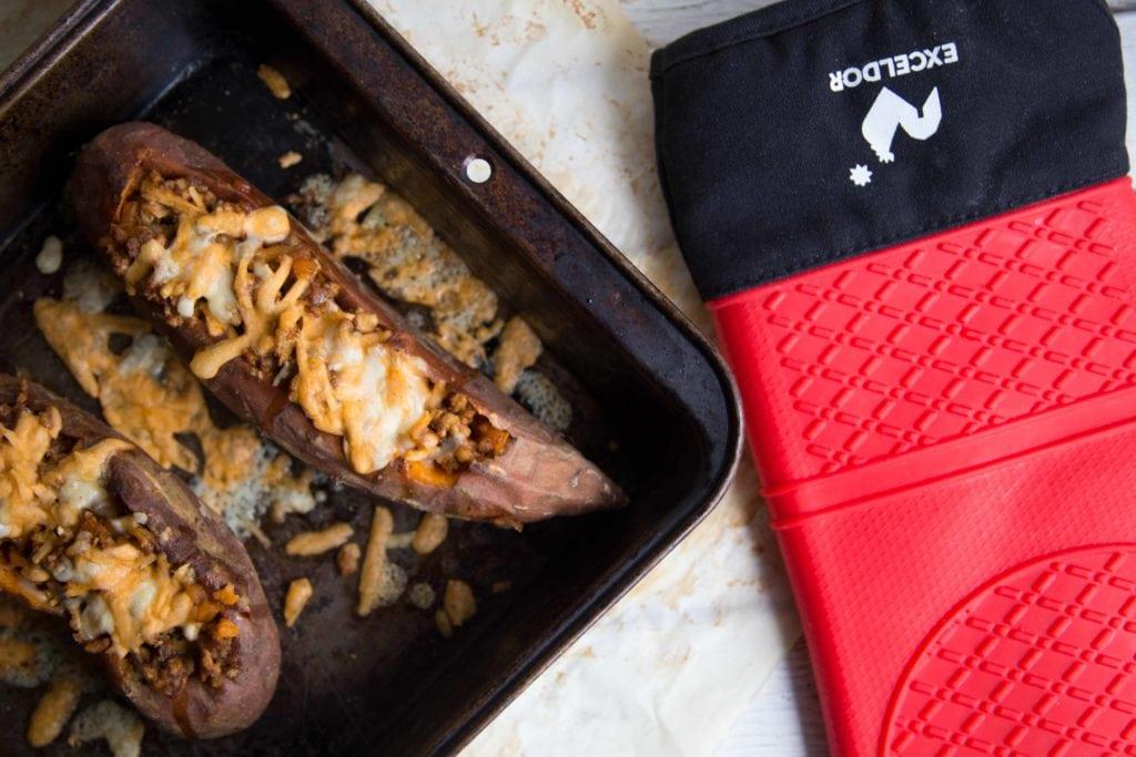 Patates douces farcies la mexicaine cinq fourchettes - Quand recolter les patates douces ...