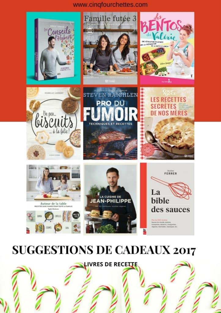 9 suggestions de livres de recettes pour Noël/ Cinq Fourchettes