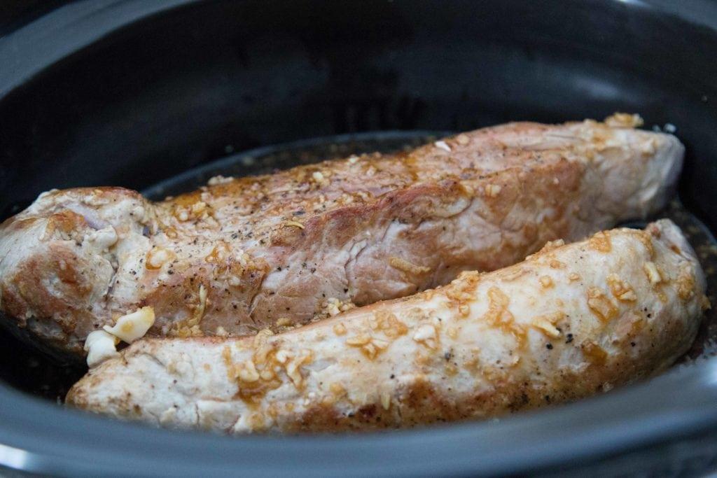 Mijoteuse : Filet de porc à l'asiatique /Cinq Fourchettes