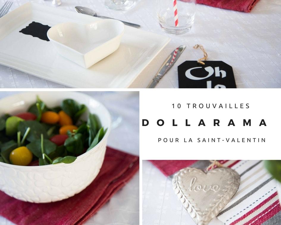 10 trouvailles chics Dollarama pour votre table de la Saint-Valentin