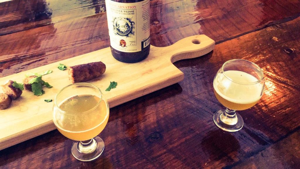 3 parcours COOL pour la dégustations bières et saucisses