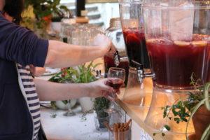 En attendant le soleil: Cinq Fourchette cocktail à la chilienne!
