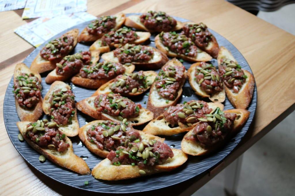 En attendant le soleil: Cinq Fourchette fête à la chilienne!