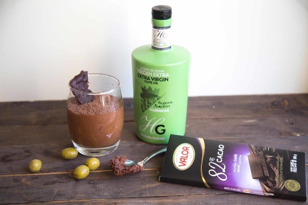 Mon ingrédient secret pour une mousse au chocolat hors de l'ordinaire ! / Cinq Fourchettes olives Espagne