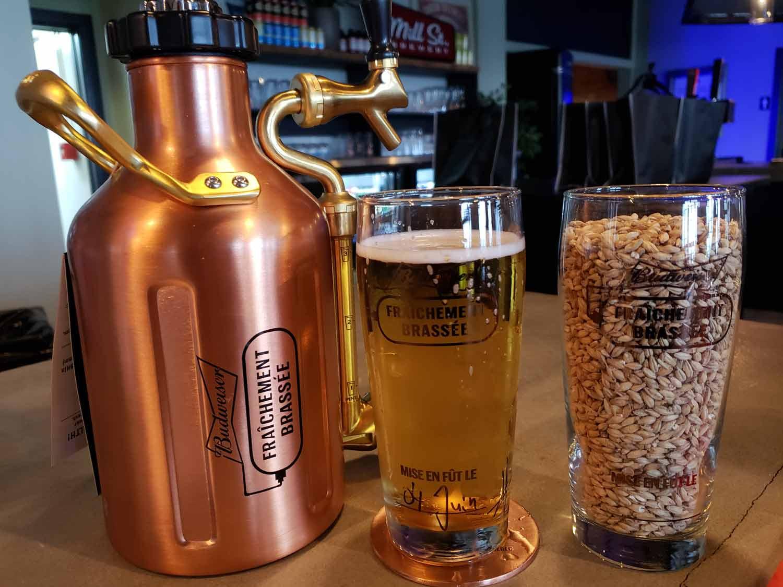 Une bière Fraichement Brassée non-pasteurisée, ça vous parle ? Cinq Fourchettes