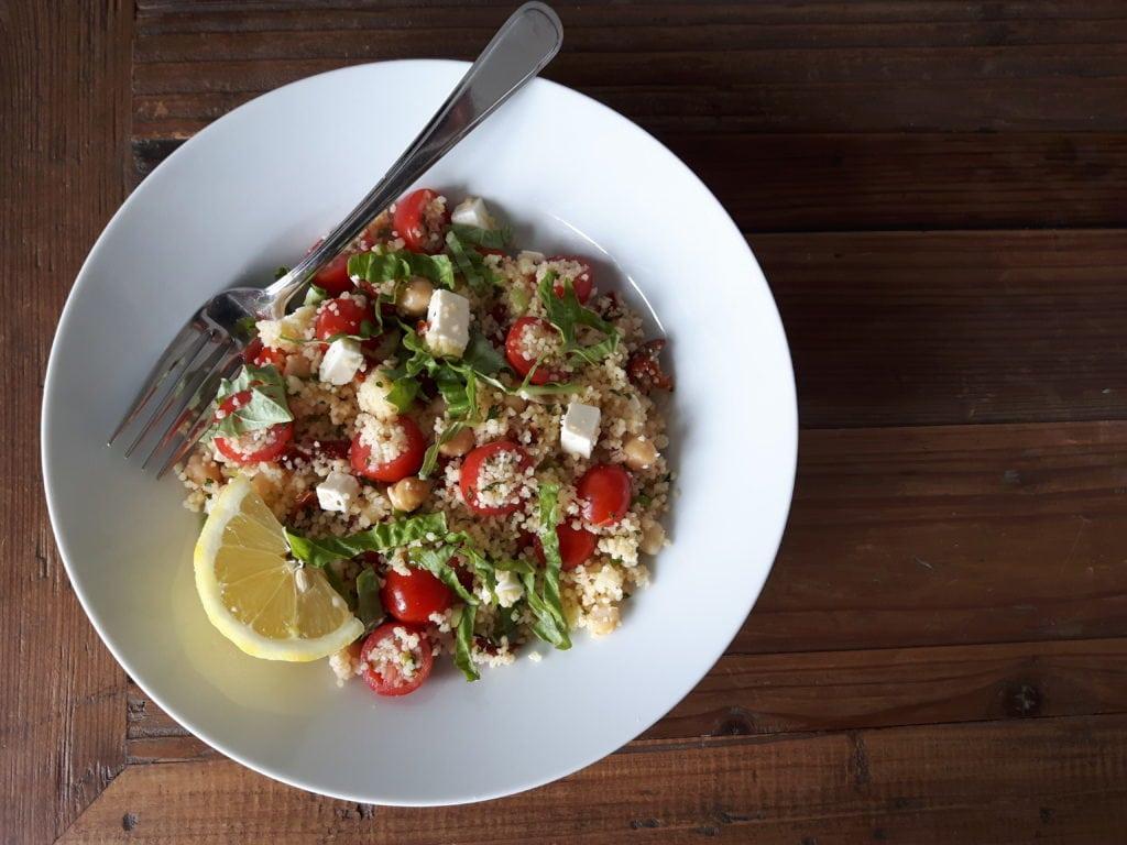 Salade de couscous feta et tomates: Idéale pour l'été ! Cinq Fourchettes