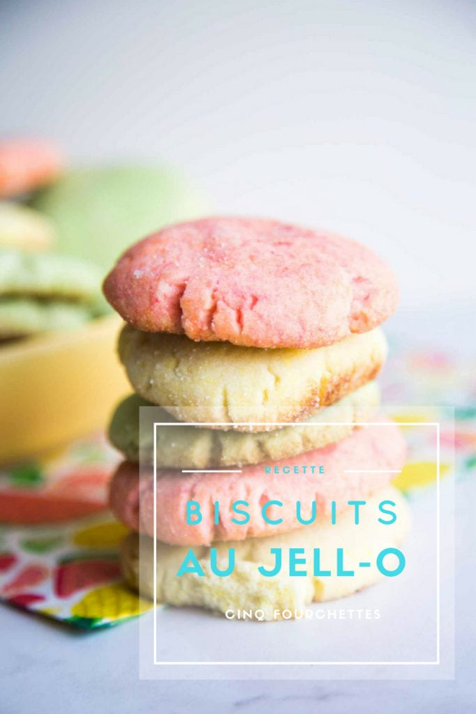 Des biscuits au Jell-O : Pas cher, pas cher ! Cinq Fourchettes