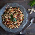 Salade de haricots blancs à la Toscane Cinq Fourchettes salade vegan