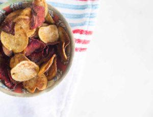 Chips de betteraves et pommes de terre Cinq Fourchettes
