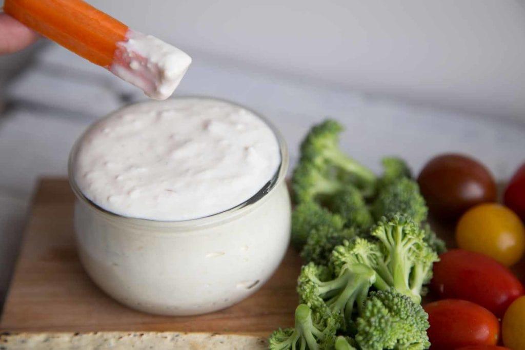 Trempette végé au petit goût de bleu : 100% Vegan ! Cinq Fourchettes