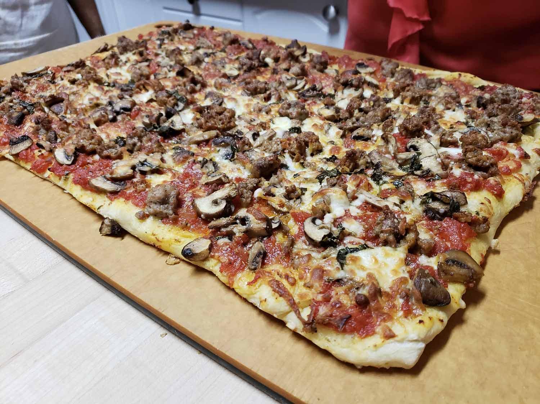 Les conseils d'Elena Faita pour une pizza réussie ! Cinq Fourchettes
