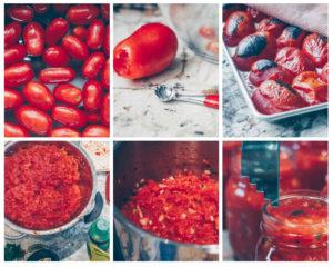 Comment faire des conserves de salsa maison Cinq Fourchettes