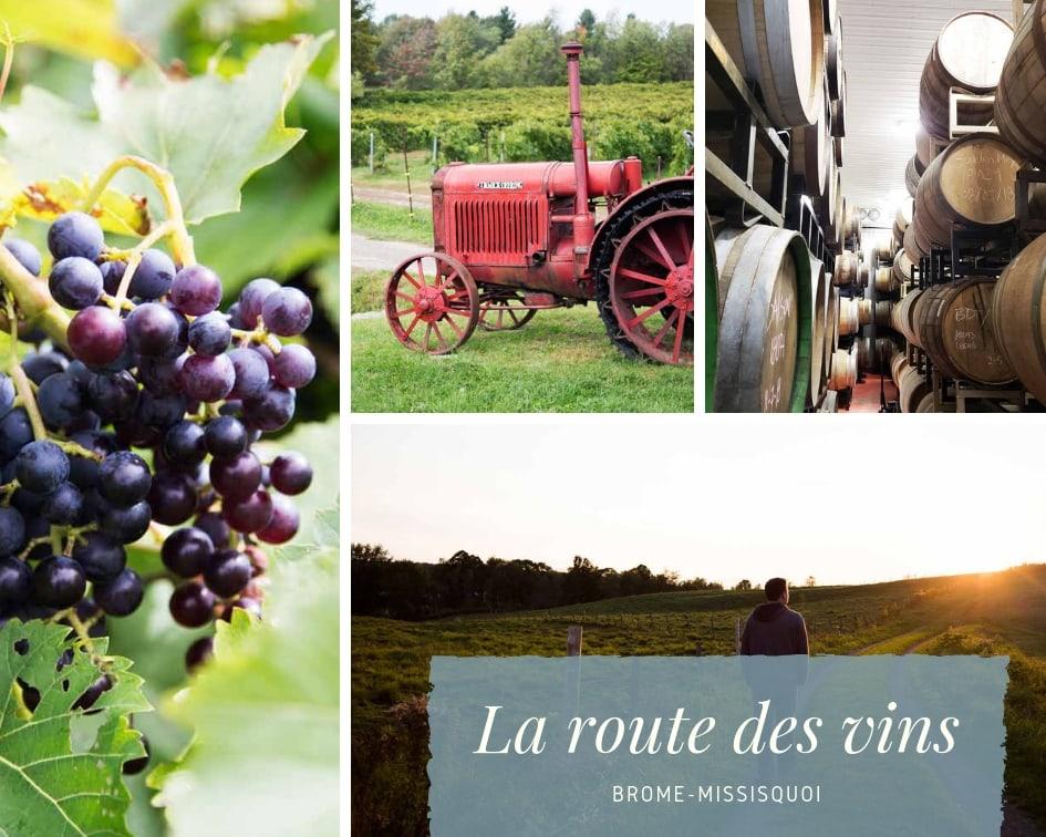 À la découverte de la route des vins Brome-Missisquoi ! Cinq Fourchettes